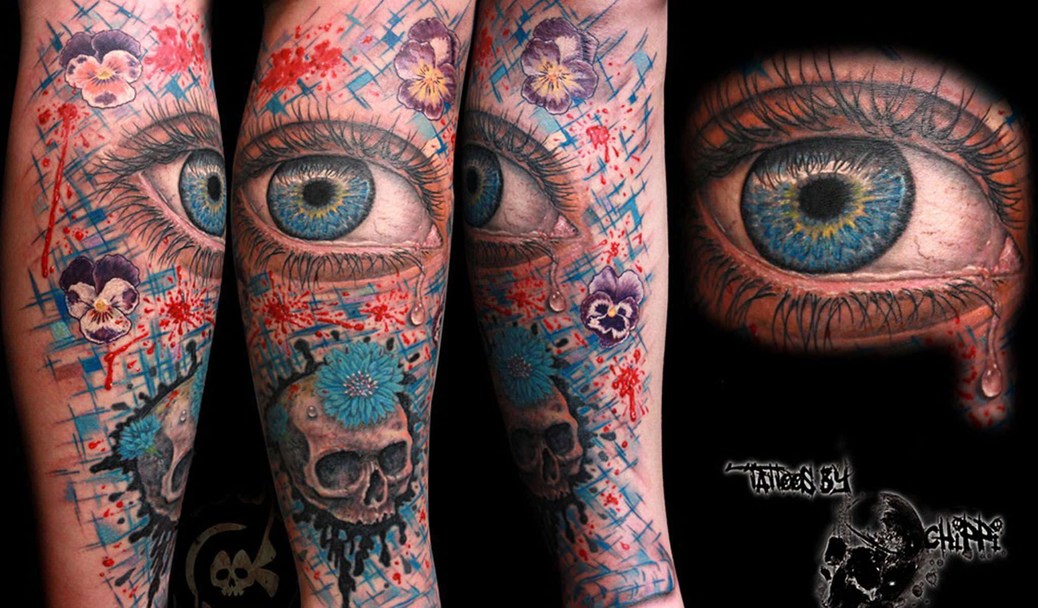 Chippi - Corpsepainter Tattoo* Germany